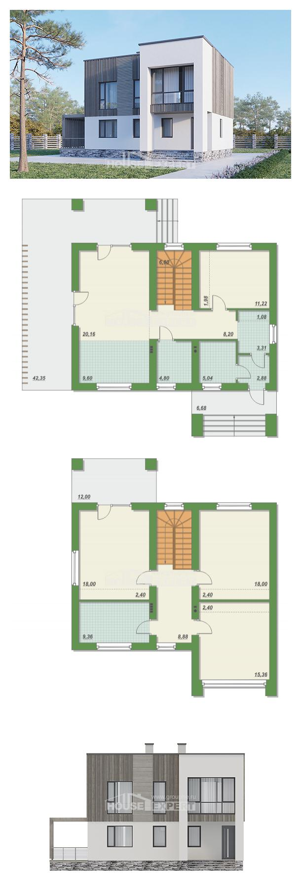 Проект дома 150-017-П | House Expert