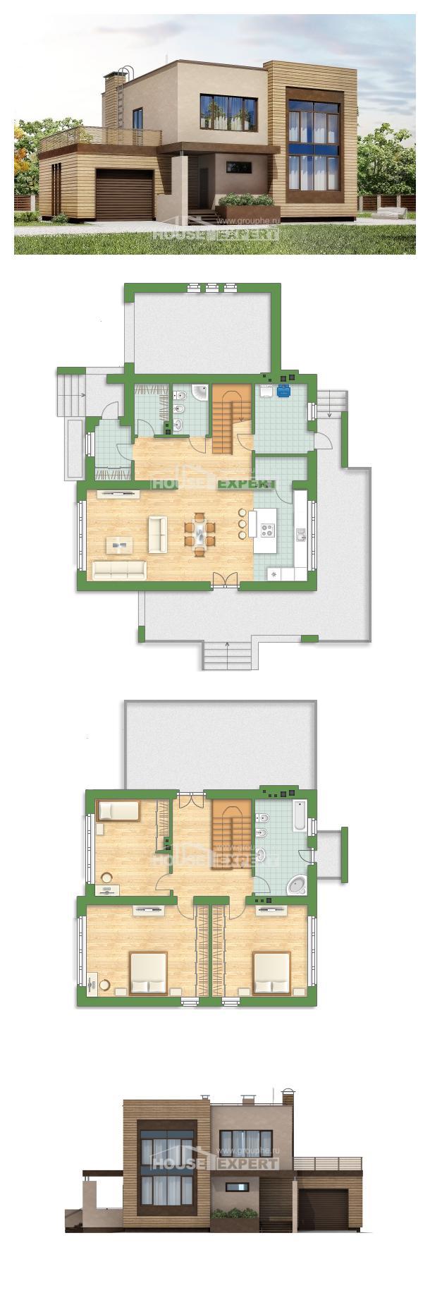 Проект дома 220-003-Л   House Expert